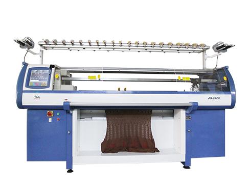 flat bed knitting machine